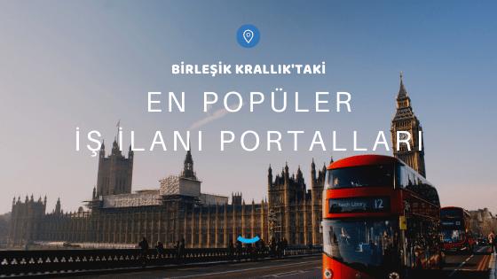 Birleşik Krallık'taki En Popüler İş İlanı Portalları