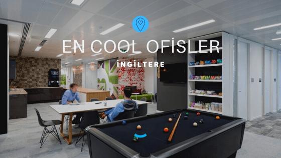 İngiltere'deki En Cool Ofisler